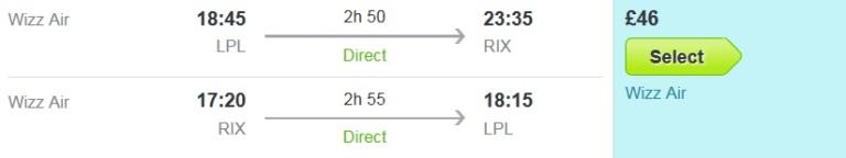 151005 - Riga - Wizz Air Flights