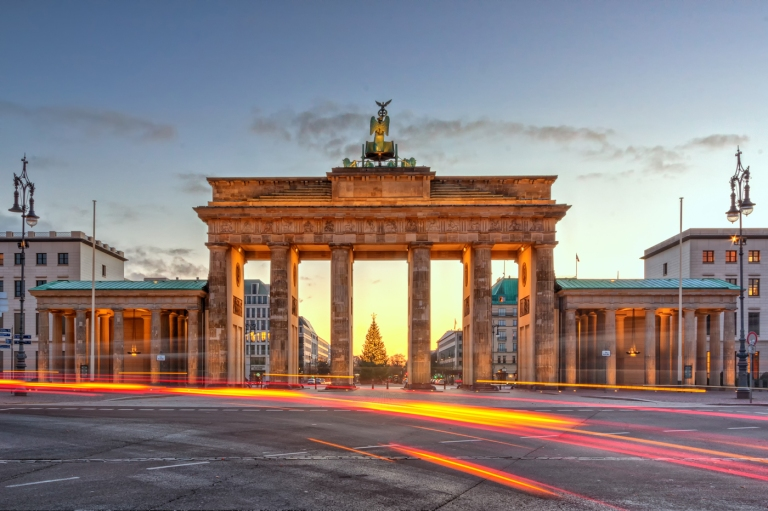 Brandenburg-Gate-West-Berlin